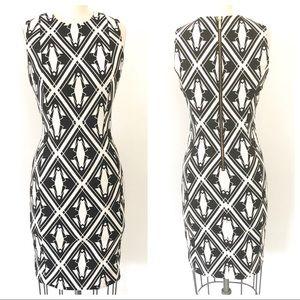 Art Deco inspired CALVIN KLEIN dress